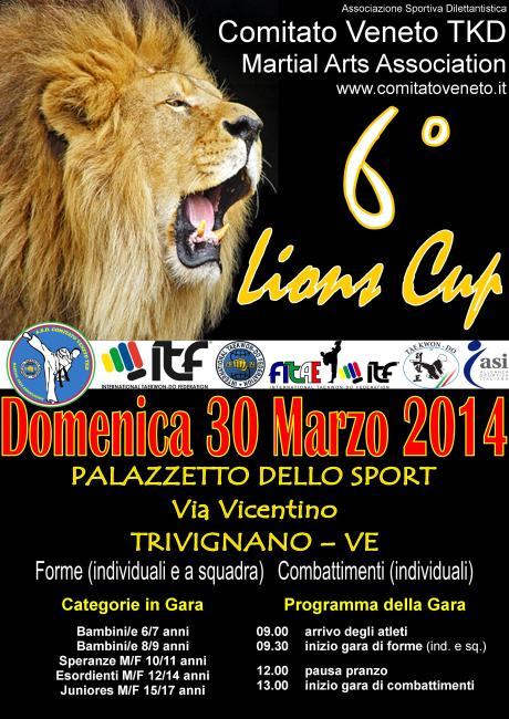 Poster Lions Cup 2014